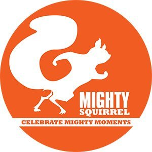 Might Squirrel brewing company logo
