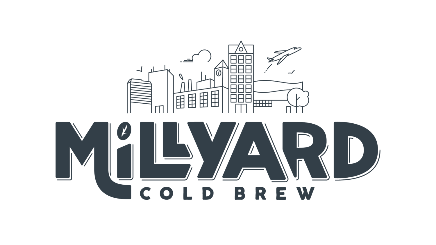 millyard cold brew coffee logo