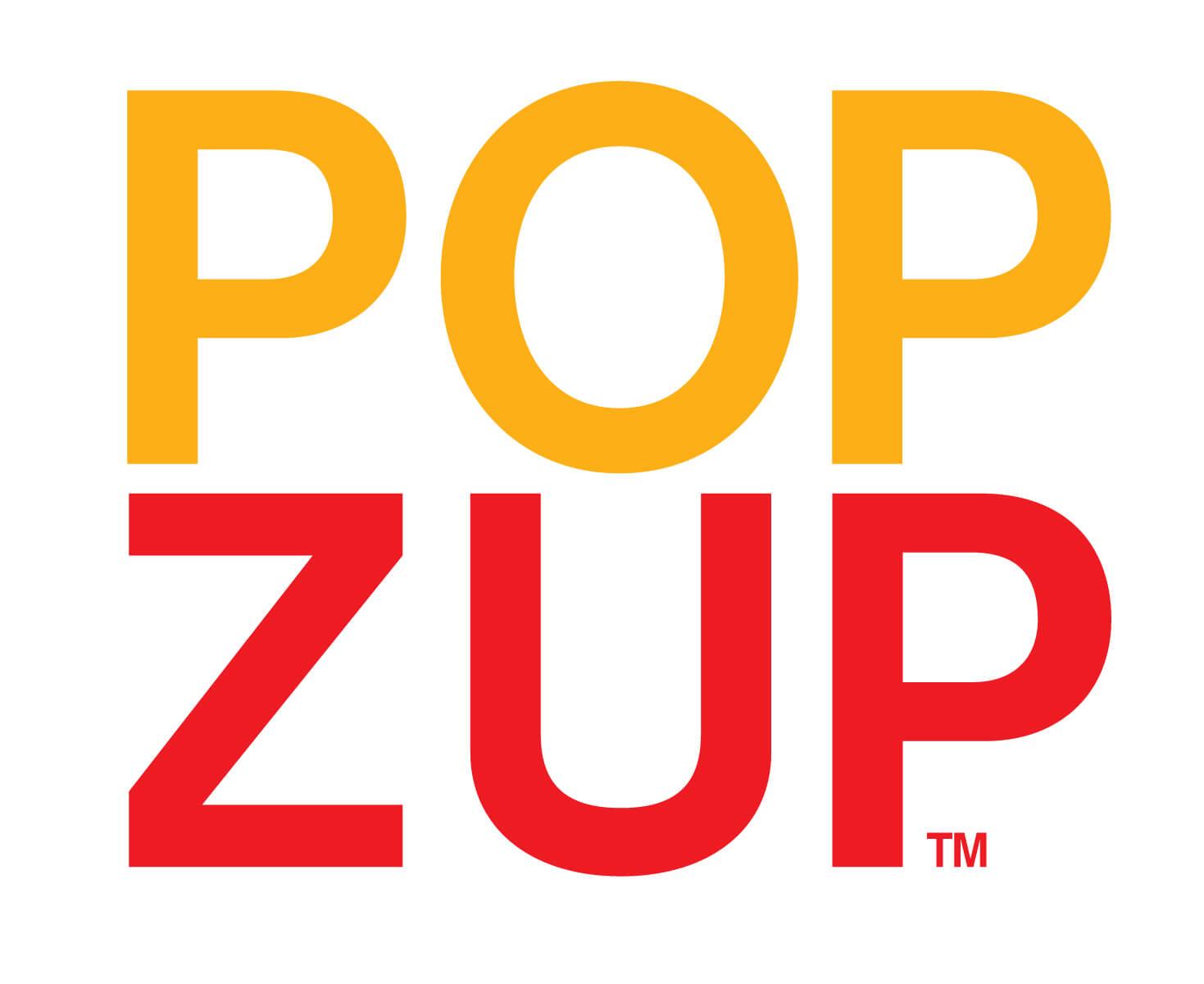 Popzup Popcorn dover NH logo