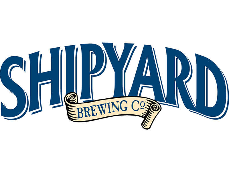 Shipyard Brewing Company Logo Blue