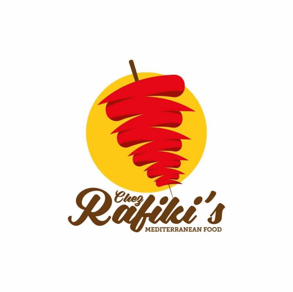 Chez Rafiki's Mediterranean Food Truck Logo