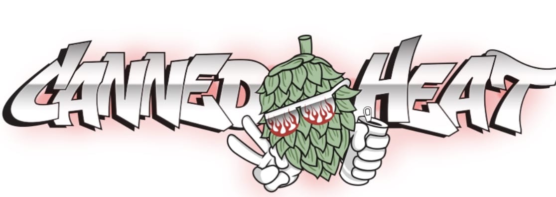 canned heat craft beer logo