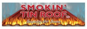 Smokin' Tin Roof logo Specialty Hot Sauces