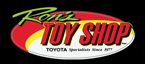 ron's toy shop logo